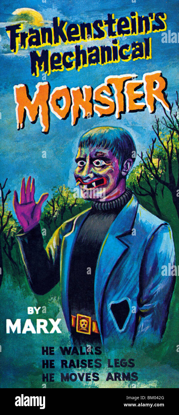 Frankenstein's Mechanical Monster - Stock Image