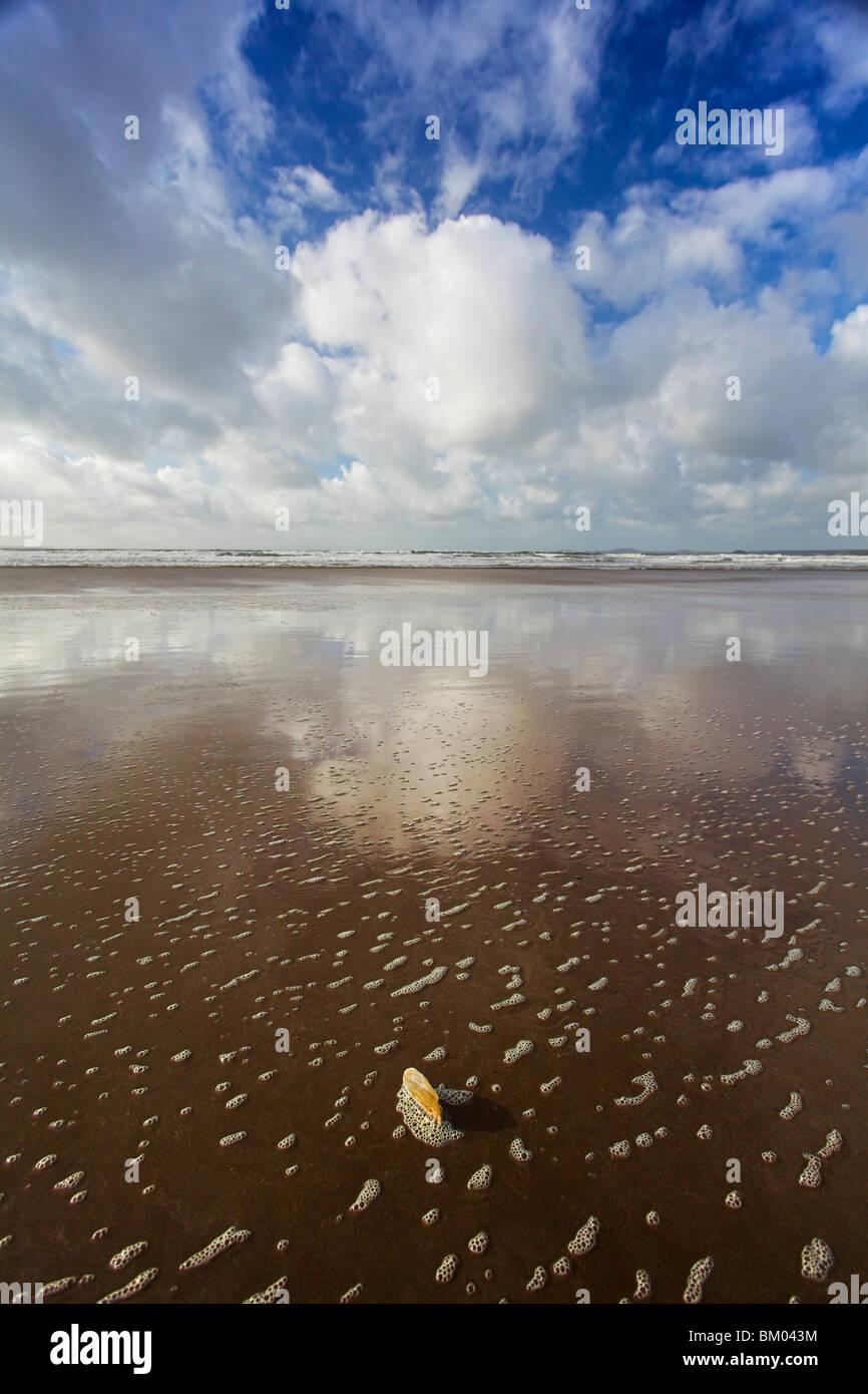 Newgale beach, St Brides Bay, Pembrokeshire, Wales, UK Stock Photo