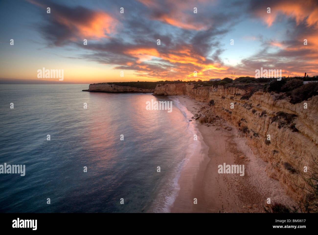 town of Porches, municipality of Lagoa, district of Faro, region of Algarve, Portugal - Stock Image