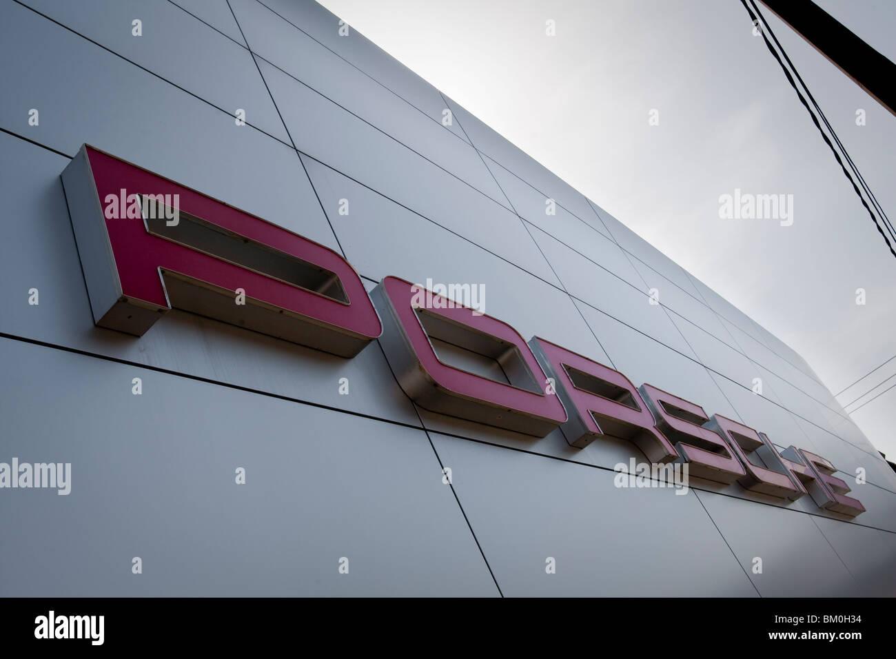 Bm Plus Siegen porsche logo a car stock photos porsche logo a car stock images