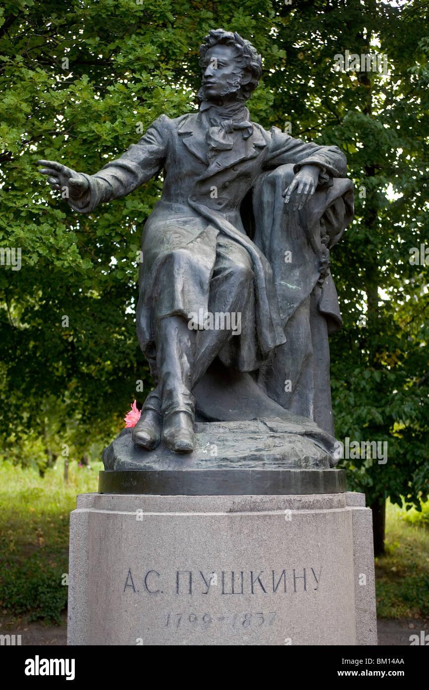 Where Pushkin is buried