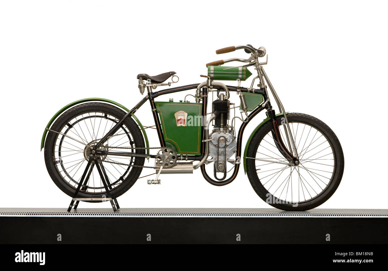 1904 Laurin & Klement single cylinder 'Slavia' - Stock Image