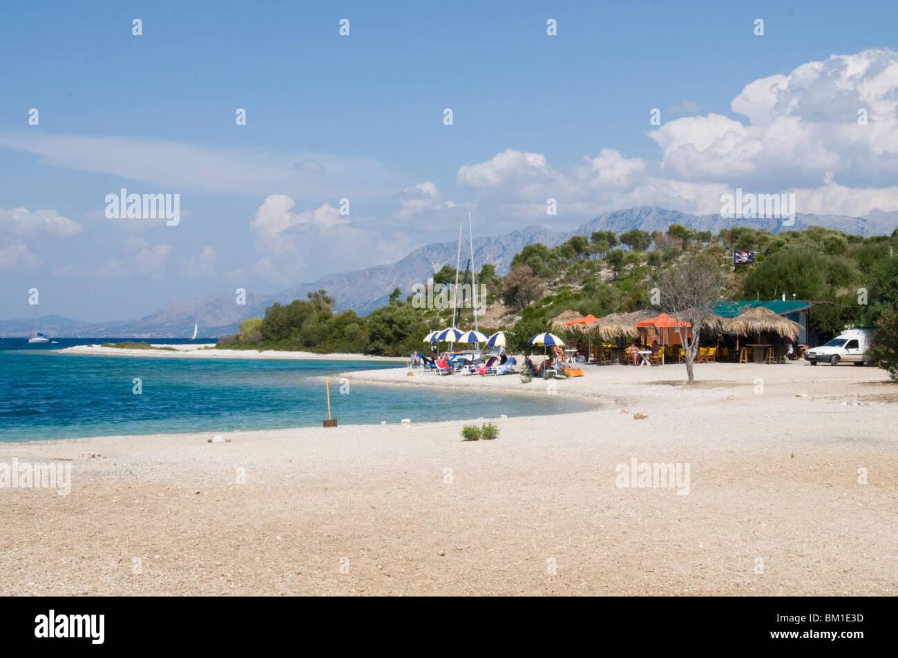 Meganisi, Ionian Islands, Greek Islands, Greece, Europe - Stock Image