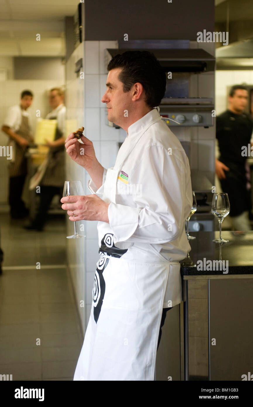 William ledeuil chef ze kitchen galerie paris france europe stock image