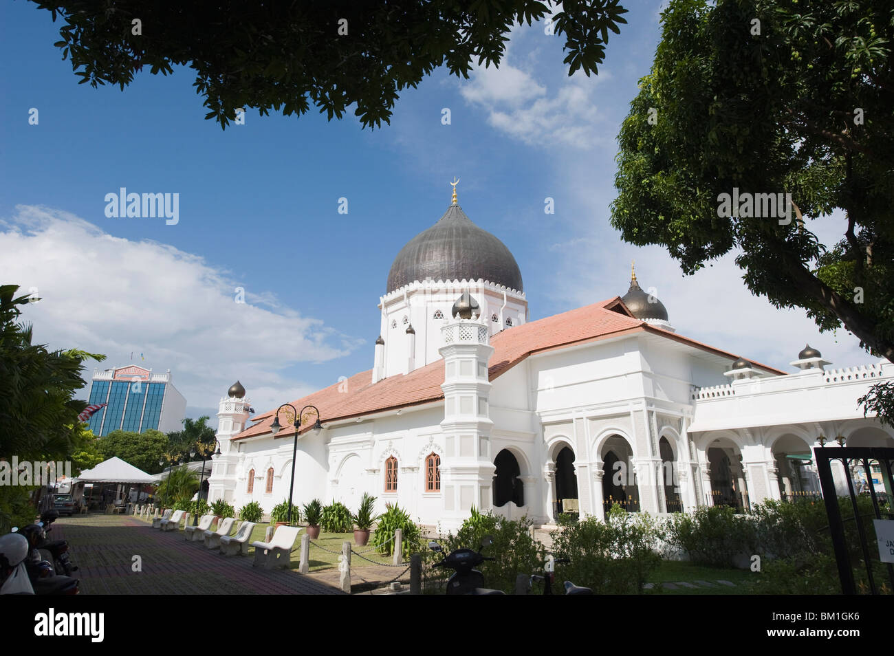 Masjid Kapitan Keling mosque, Georgetown, Penang, Malaysia, Southeast Asia, Asia - Stock Image