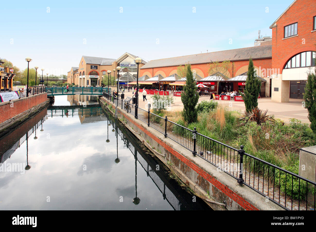 Chelmer Meadows shopping center in Chelmsford Essex - Stock Image