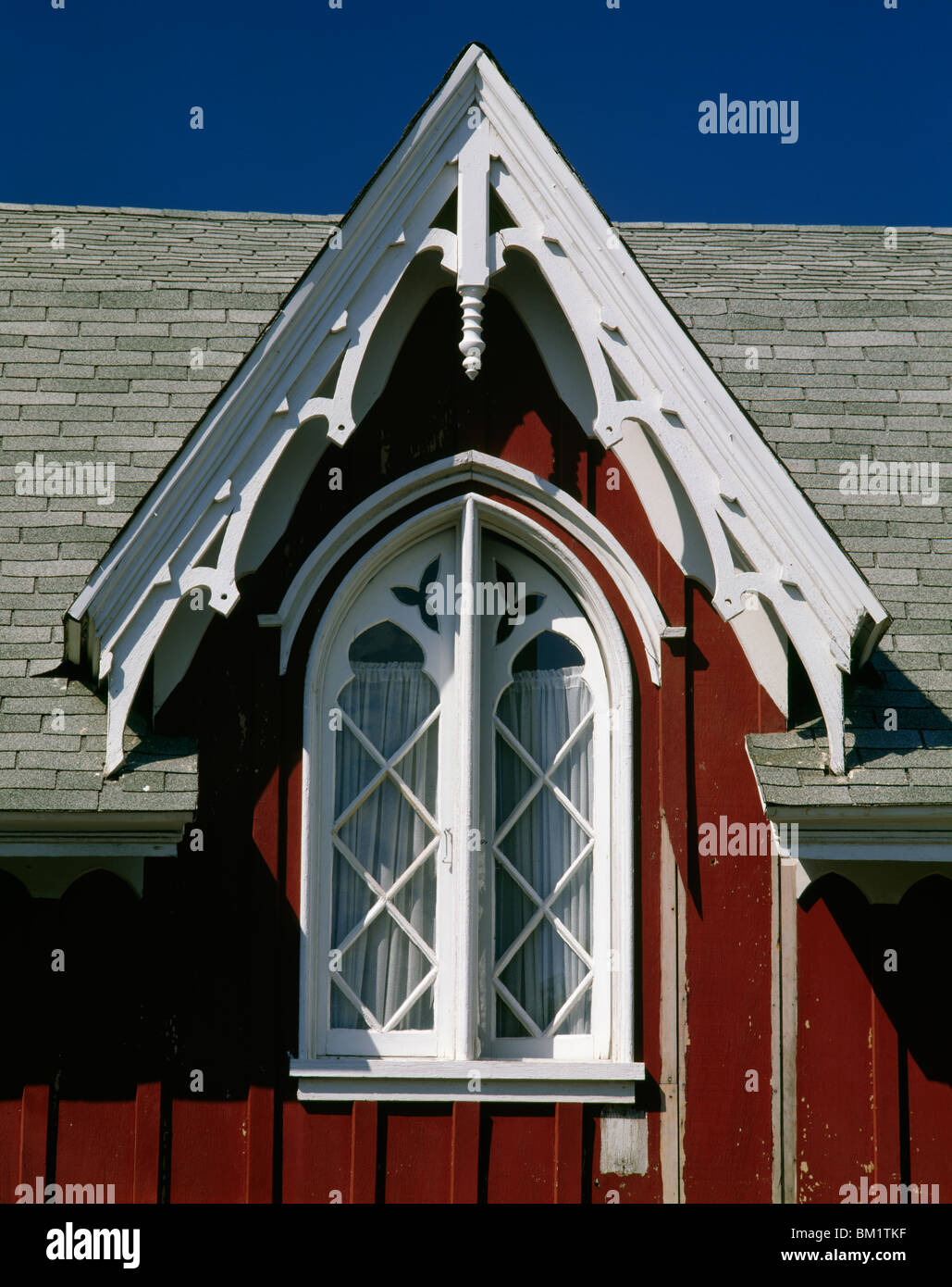 Close-up of a building, Eureka, California, USA - Stock Image