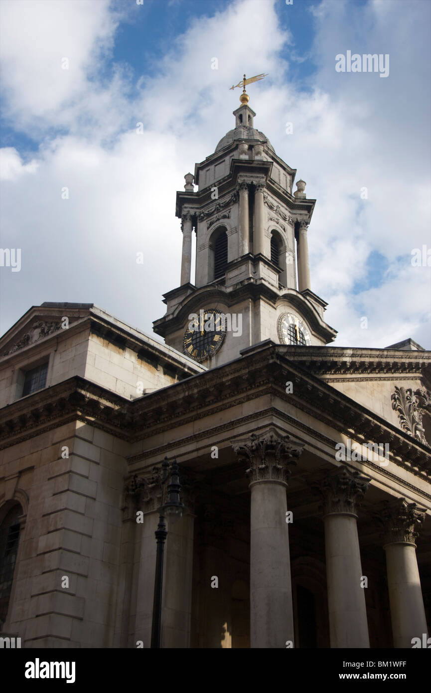 St George's, Hanover Square, is an Anglican church in central London, built in the early 18thcentury - Stock Image