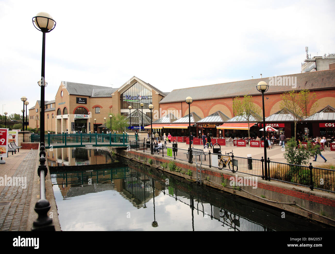 Chelmsford town centre - Stock Image