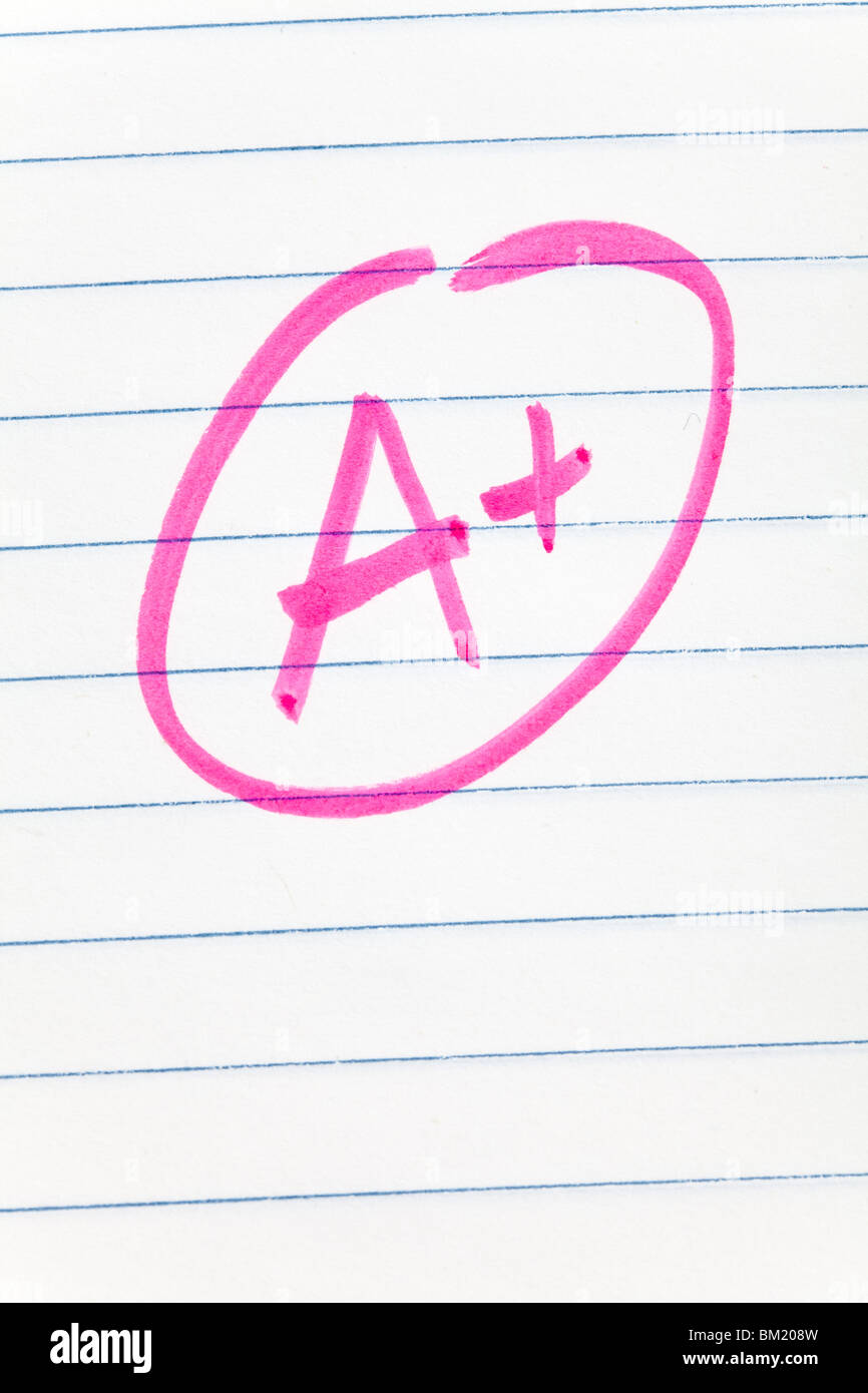 school grade for background use - Stock Image
