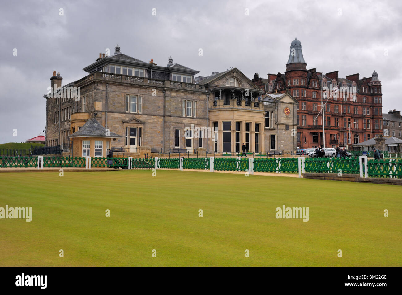 St. Andrews Royal and Ancient Golf Course - Old Course Club House - St. Andrews, Scotland - Stock Image