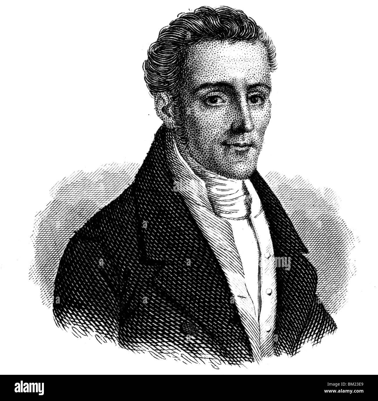 Silvio Pellico - Stock Image