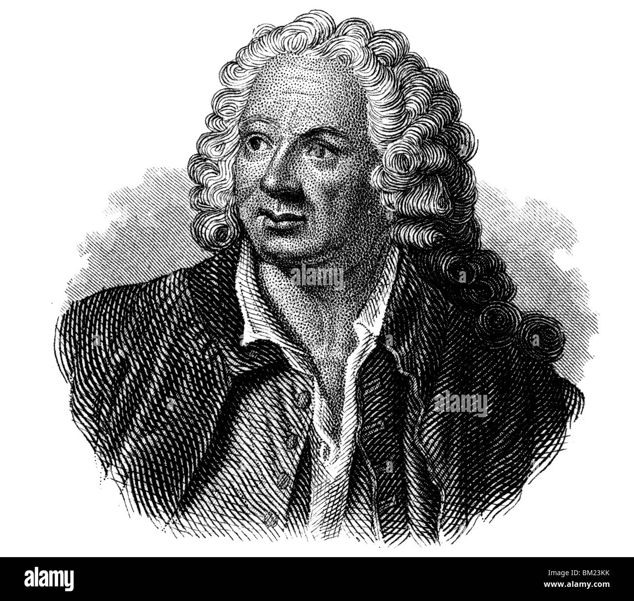 Jean-Baptiste Rousseau Stock Photo