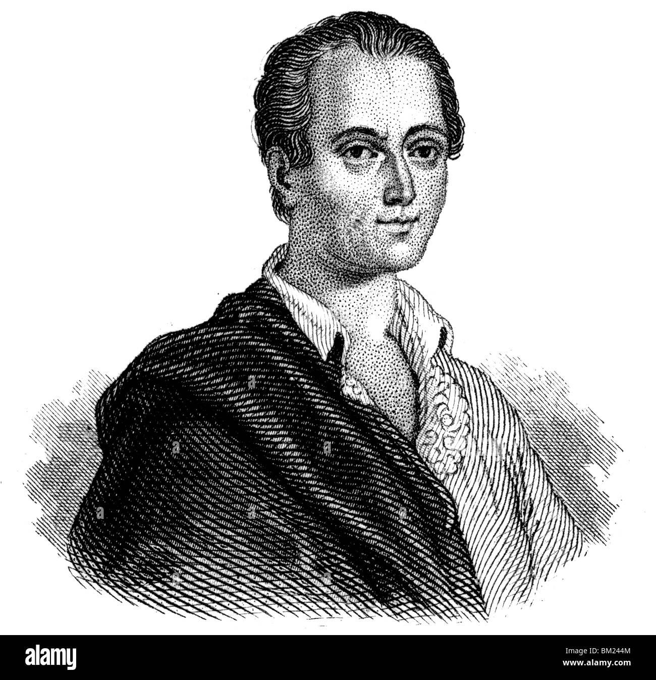 Johann Joachim Winckelmann - Stock Image