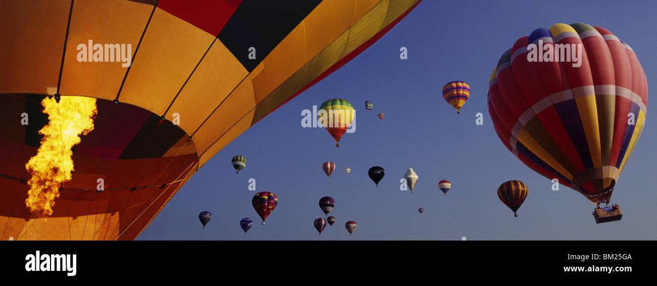 Hot air balloon festival, Bristol, England, United Kingdom, Europe - Stock Image