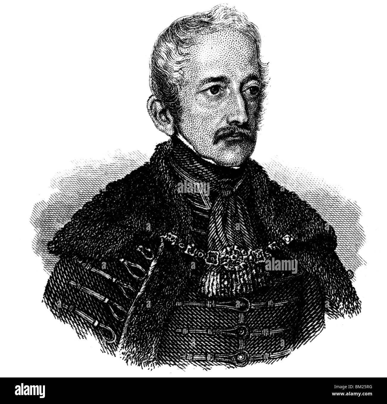 Alois von Mednyanszky Stock Photo