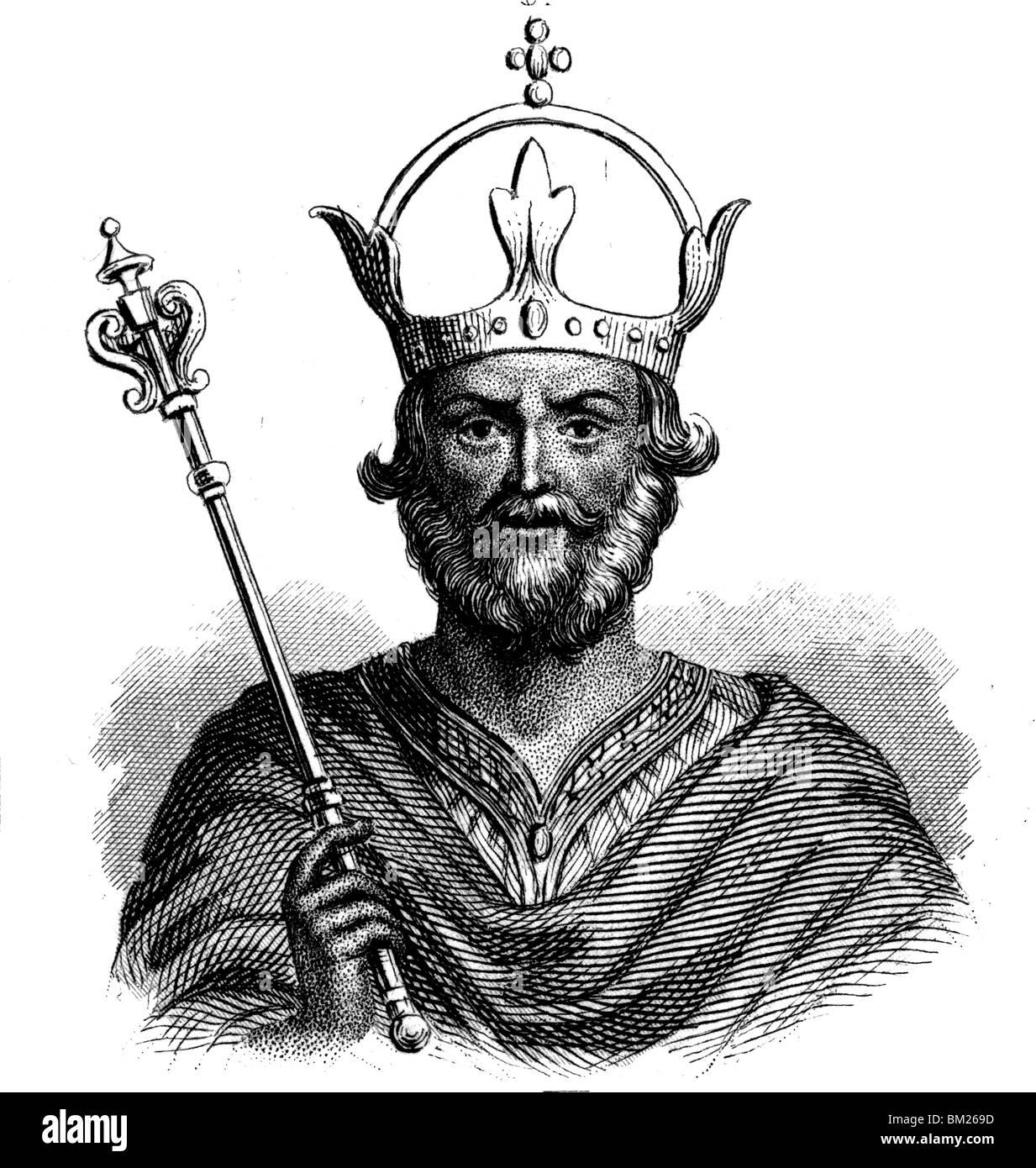 Henry IV of France - Stock Image