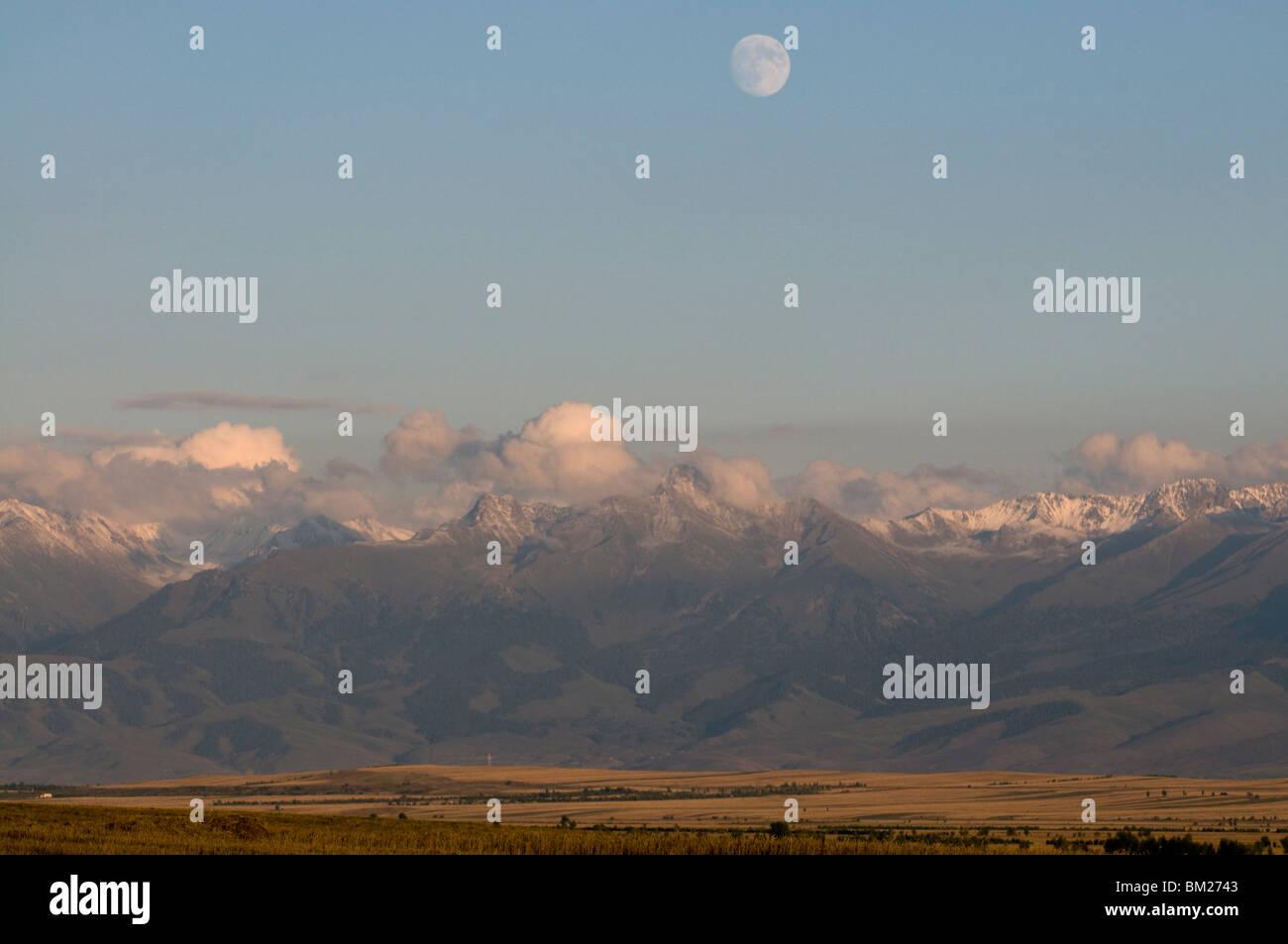Central Tian Shan Mountain Range, Karkakol, Kyrgyzstan, Central Asia - Stock Image