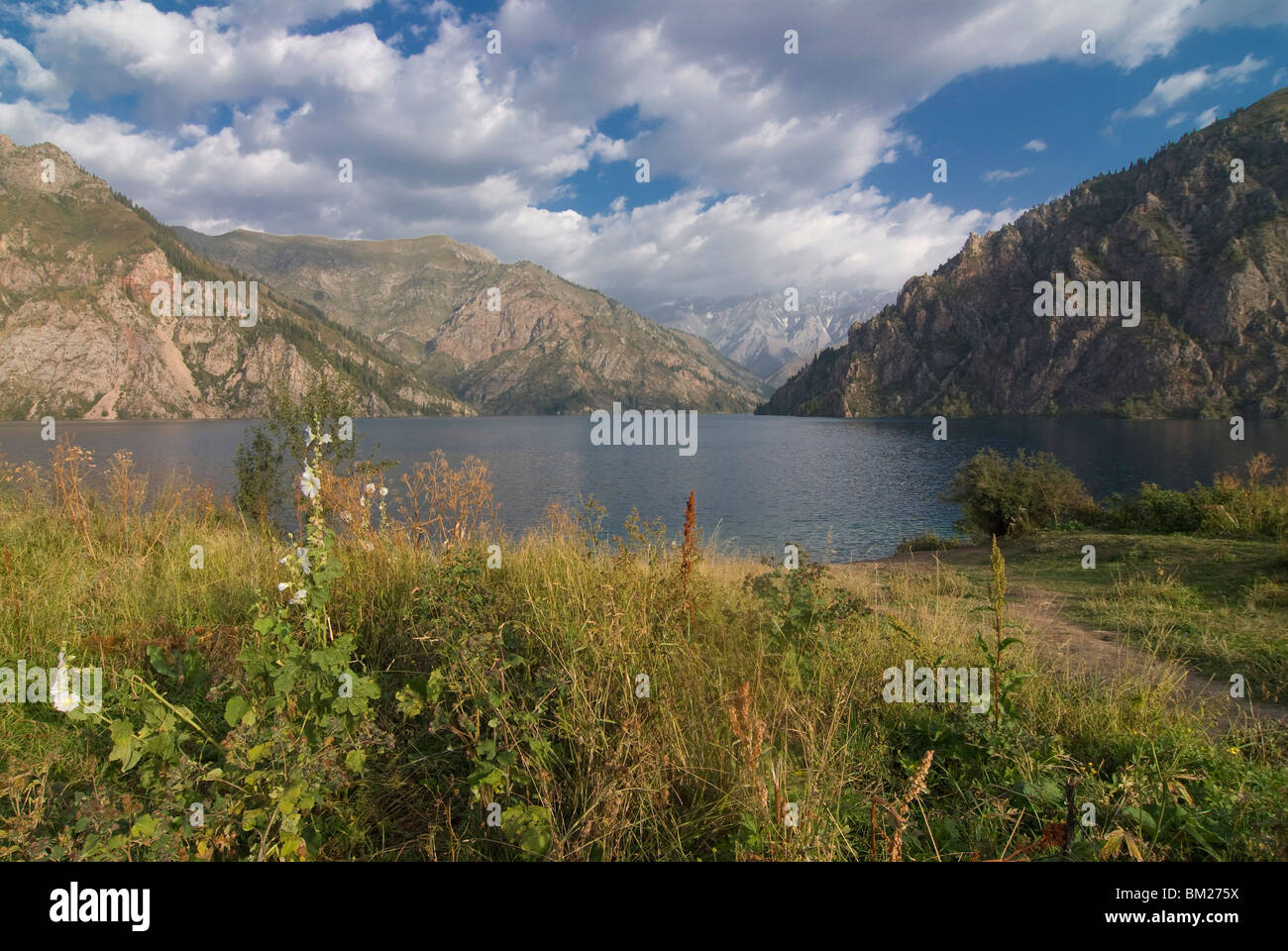 Sary Chelek UNESCO Biosphere Reserve, Kyrgyzstan, Central Asia - Stock Image
