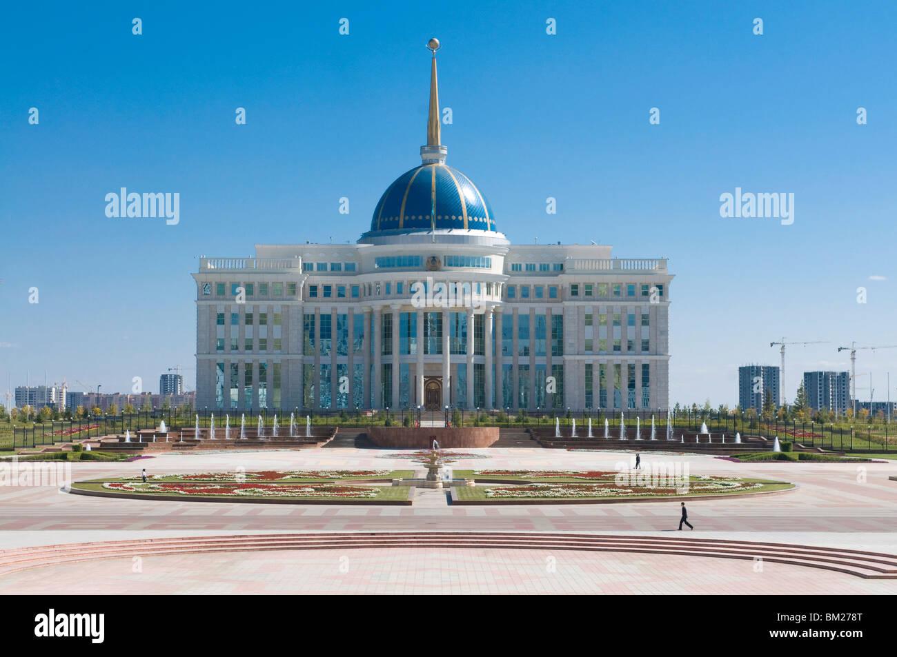 Presidential Palace, Astana, Kazakhstan, Central Asia - Stock Image