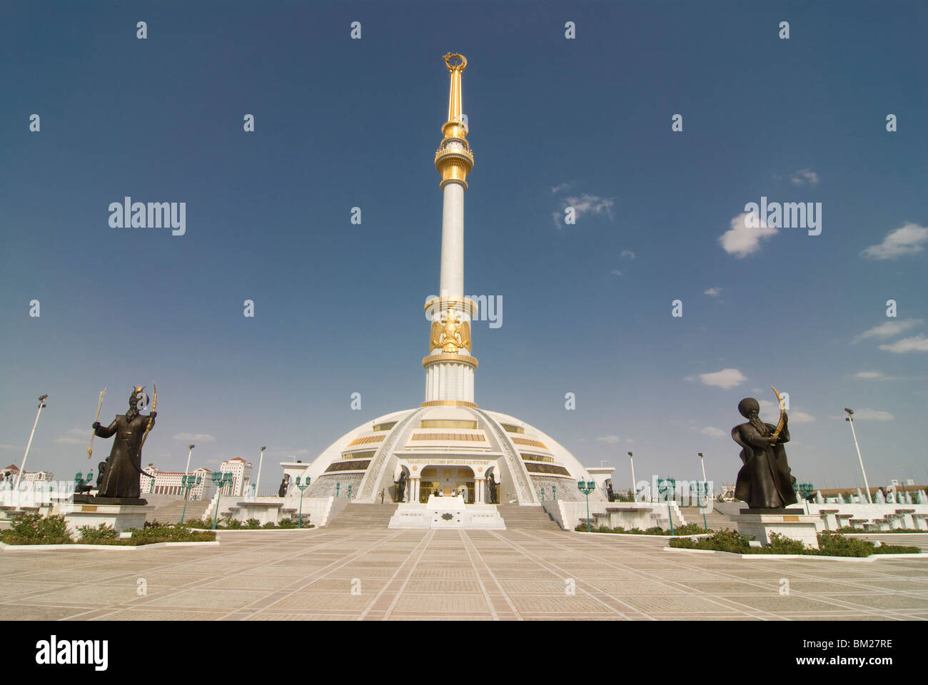 Monument of the Independence of Turkmenistan, Ashgabad, Turkmenistan, Central Asia, Asia - Stock Image