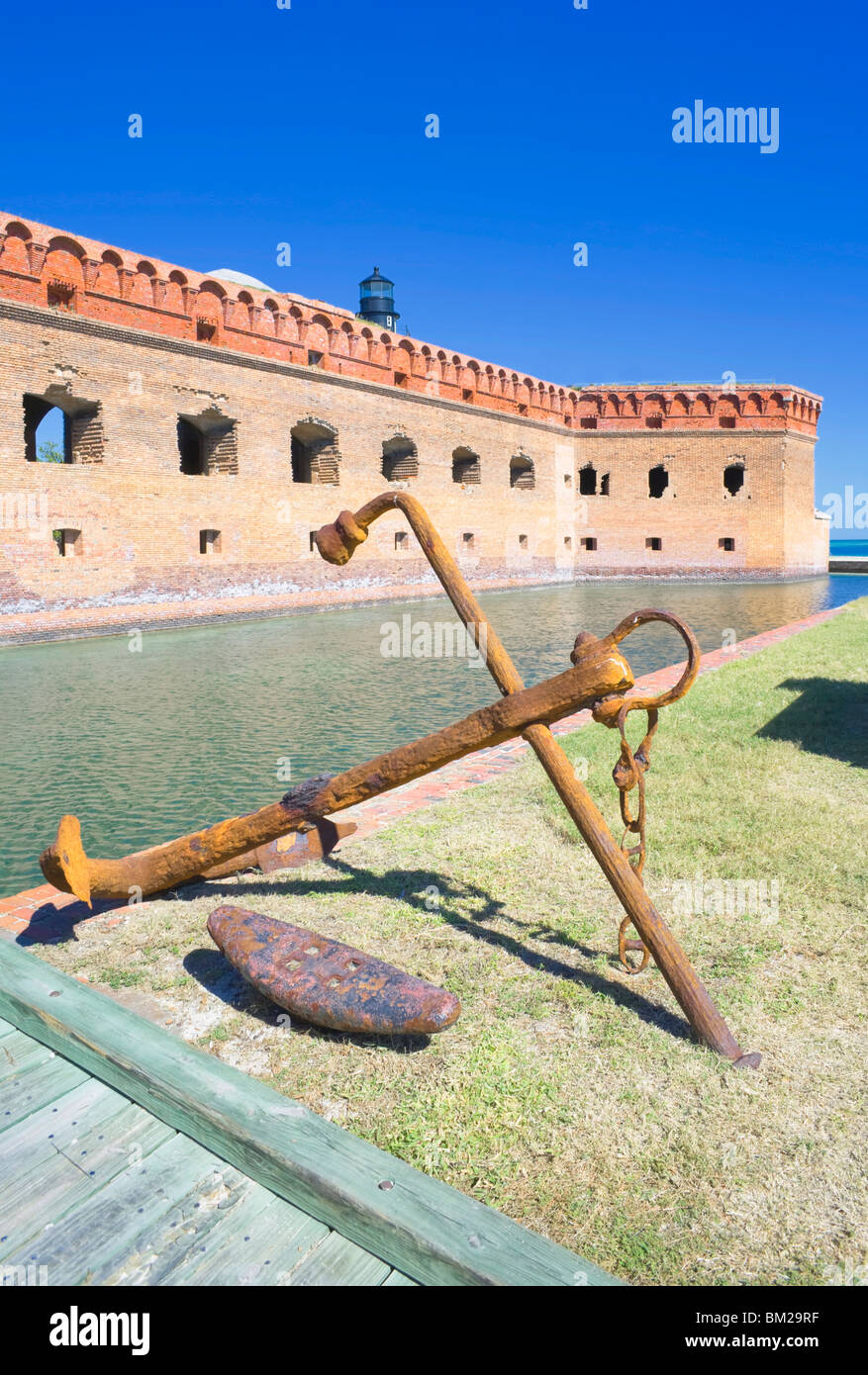 Fort Jefferson, Dry Tortugas National Park, Florida, USA - Stock Image