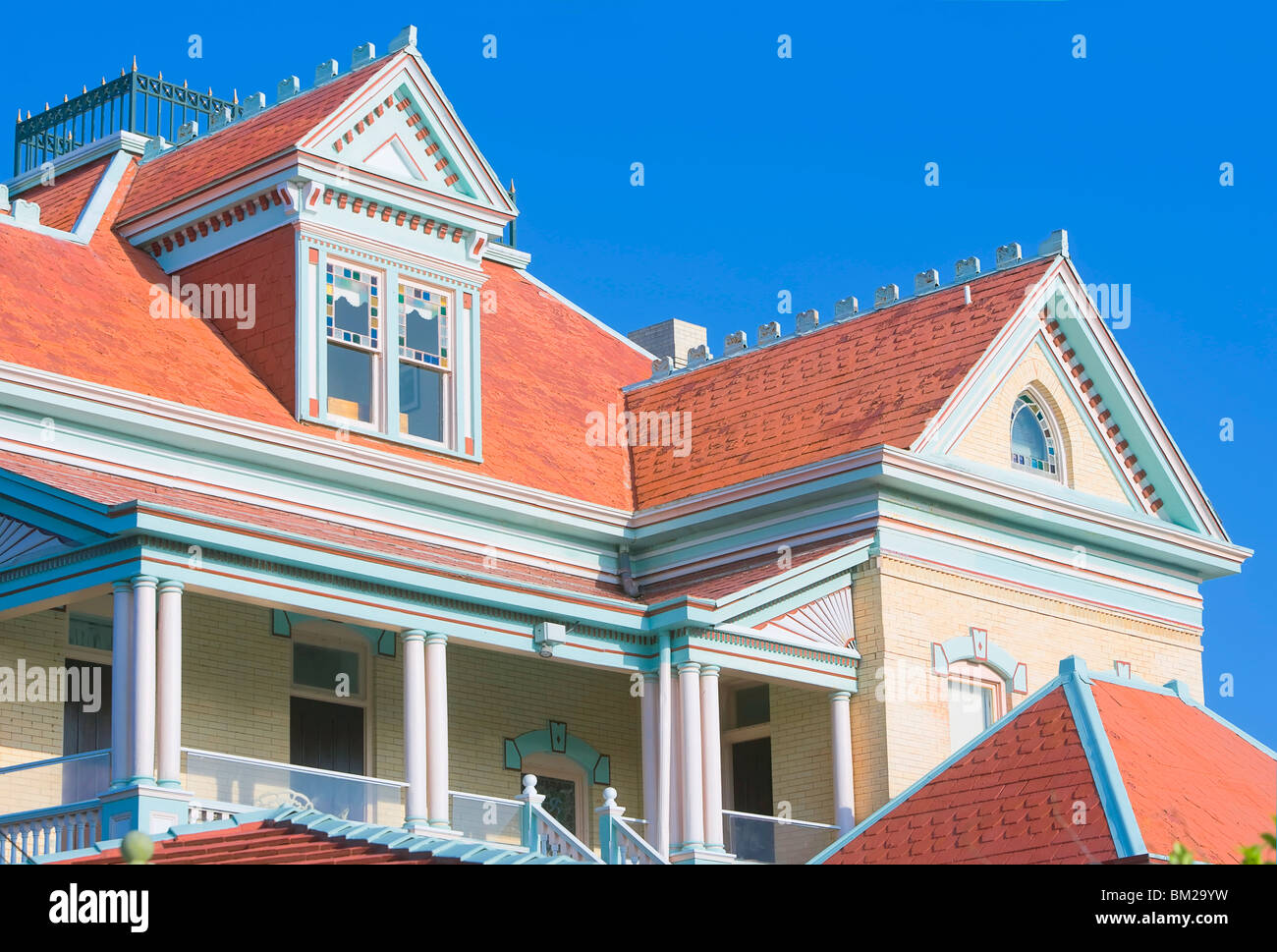 Southernmost House (Mansion) Hotel and Museum, Key West, Florida, USA - Stock Image