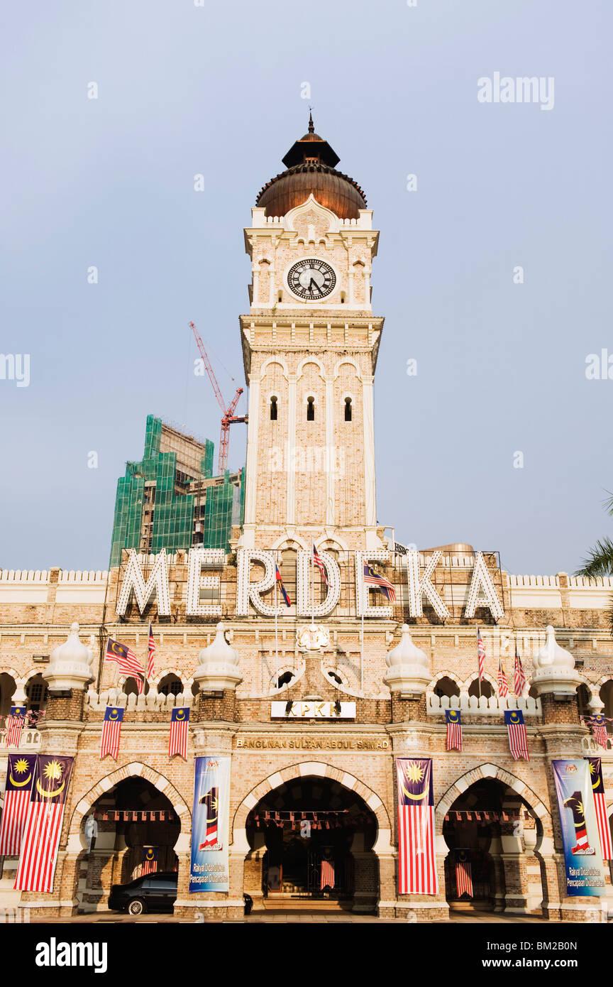 Sultan Abdul Samad Building, Merdeka Square, Kuala Lumpur, Malaysia, Southeast Asia - Stock Image