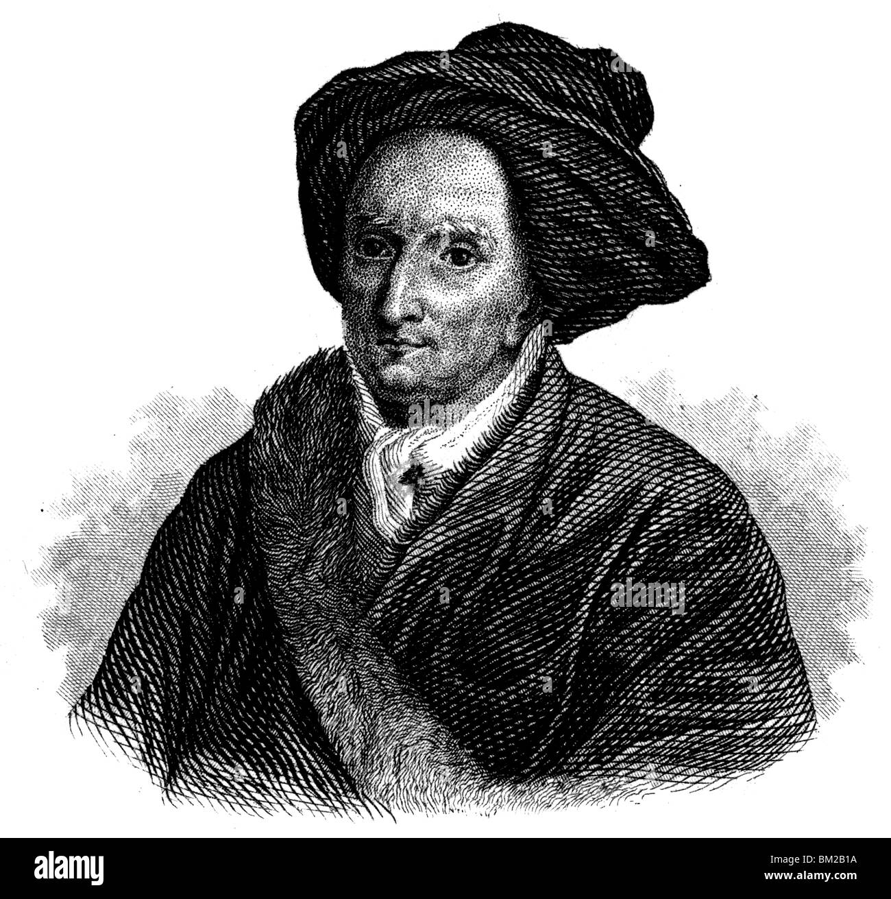 Bernard le Bovier de Fontenelle Stock Photo