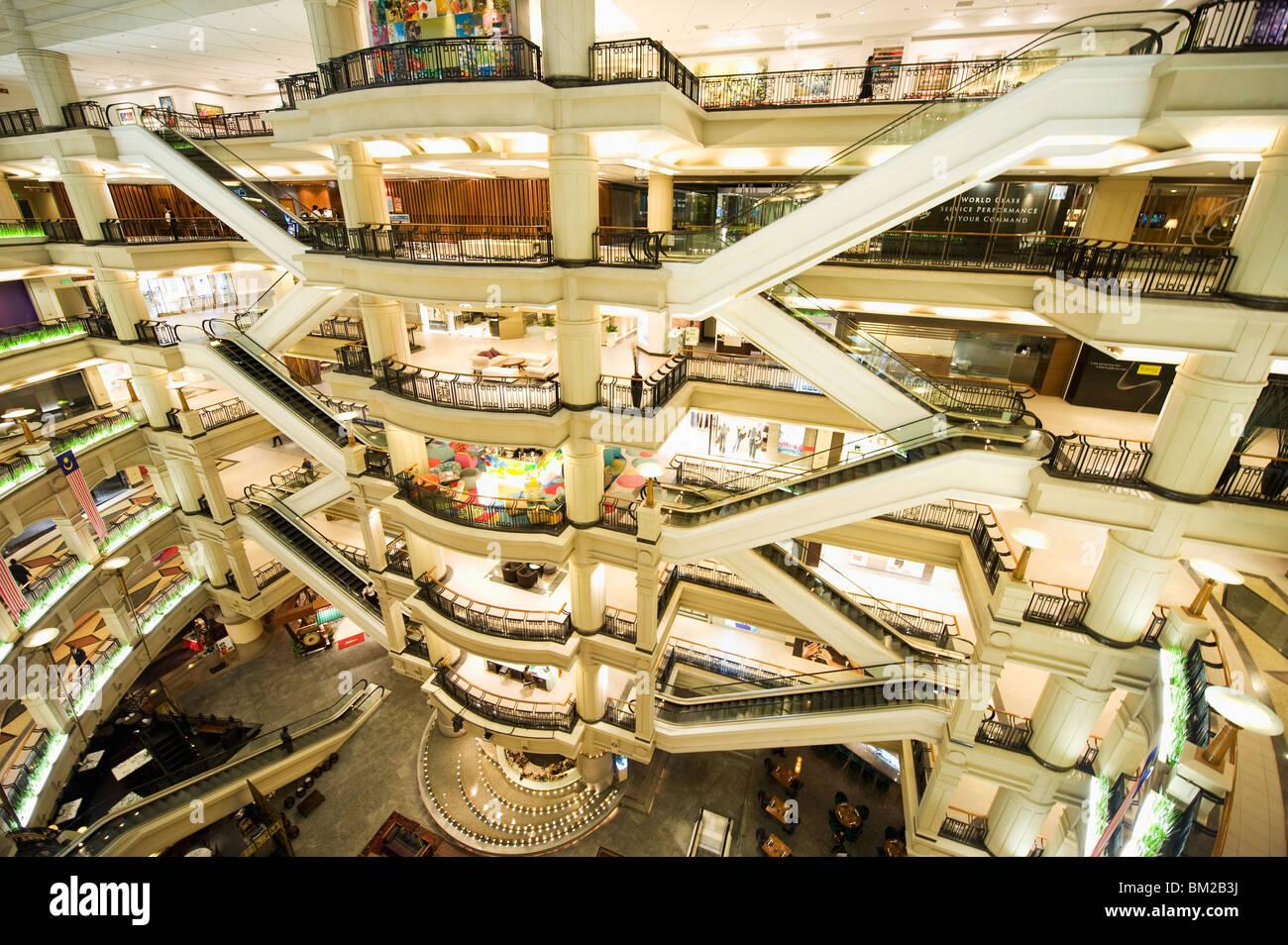 Starhill Gallery luxury shopping mall, Bukit Bintang, Kuala Lumpur, Malaysia, Southeast Asia - Stock Image