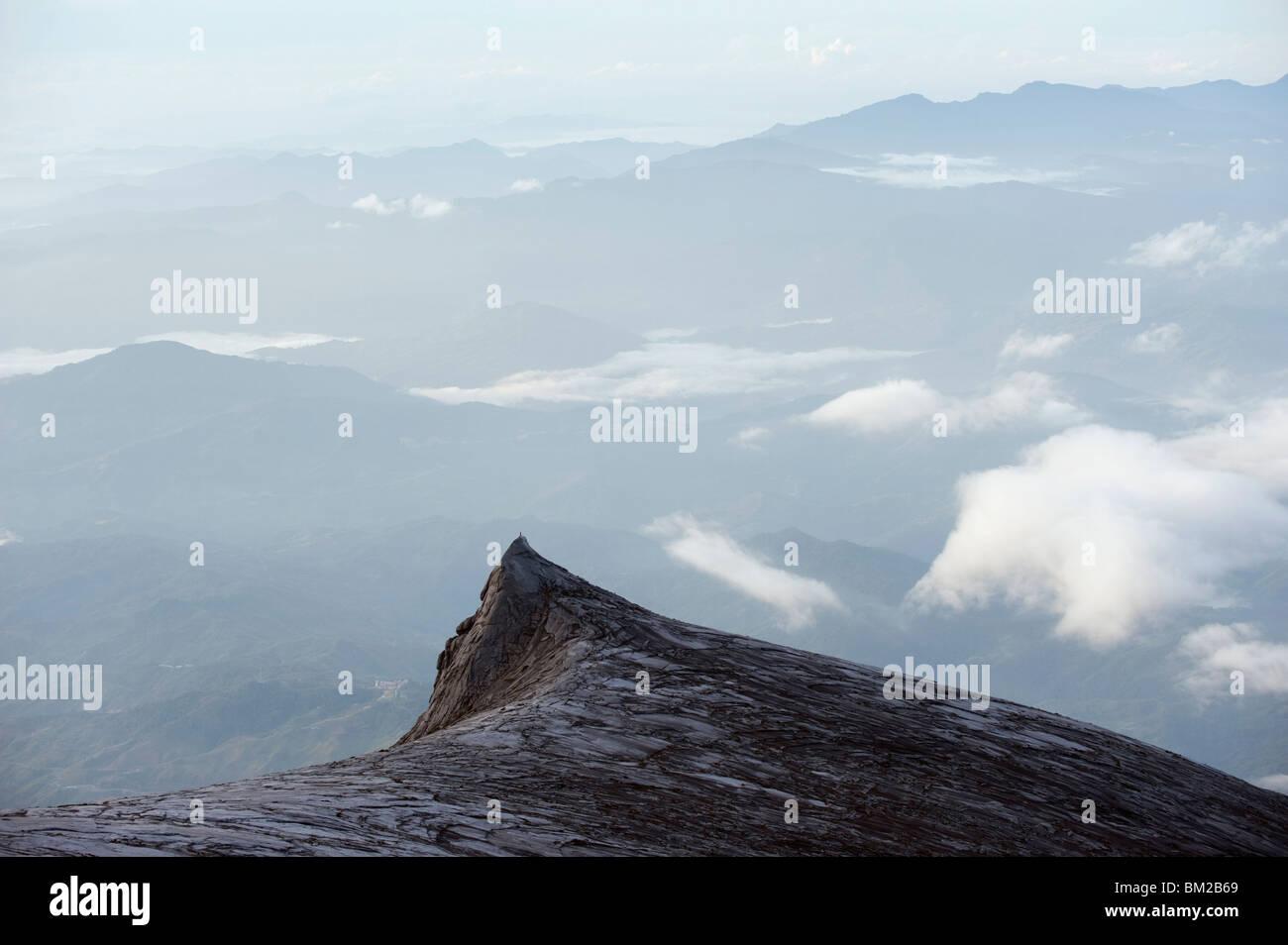 Kinabalu National Park, Malaysias highest mountain 4095m, Sabah, Borneo, Malaysia, Southeast Asia - Stock Image