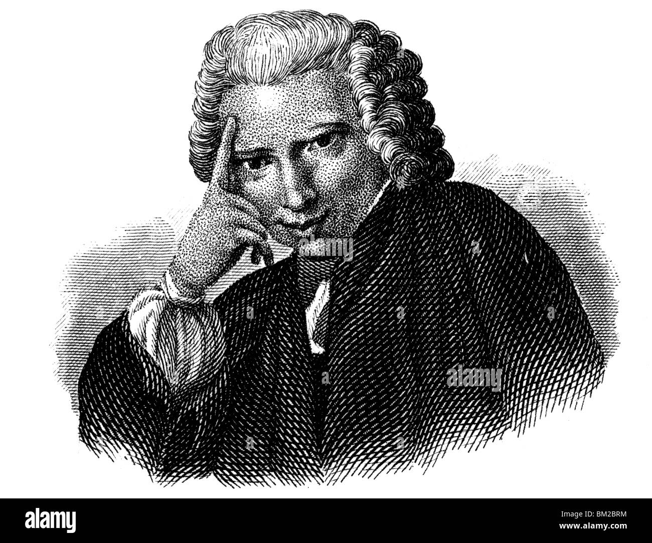 Laurence Sterne - Stock Image