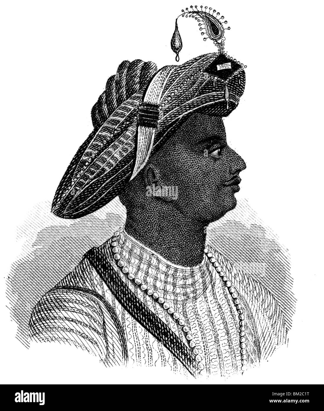 Tipu Sultan Stock Photo