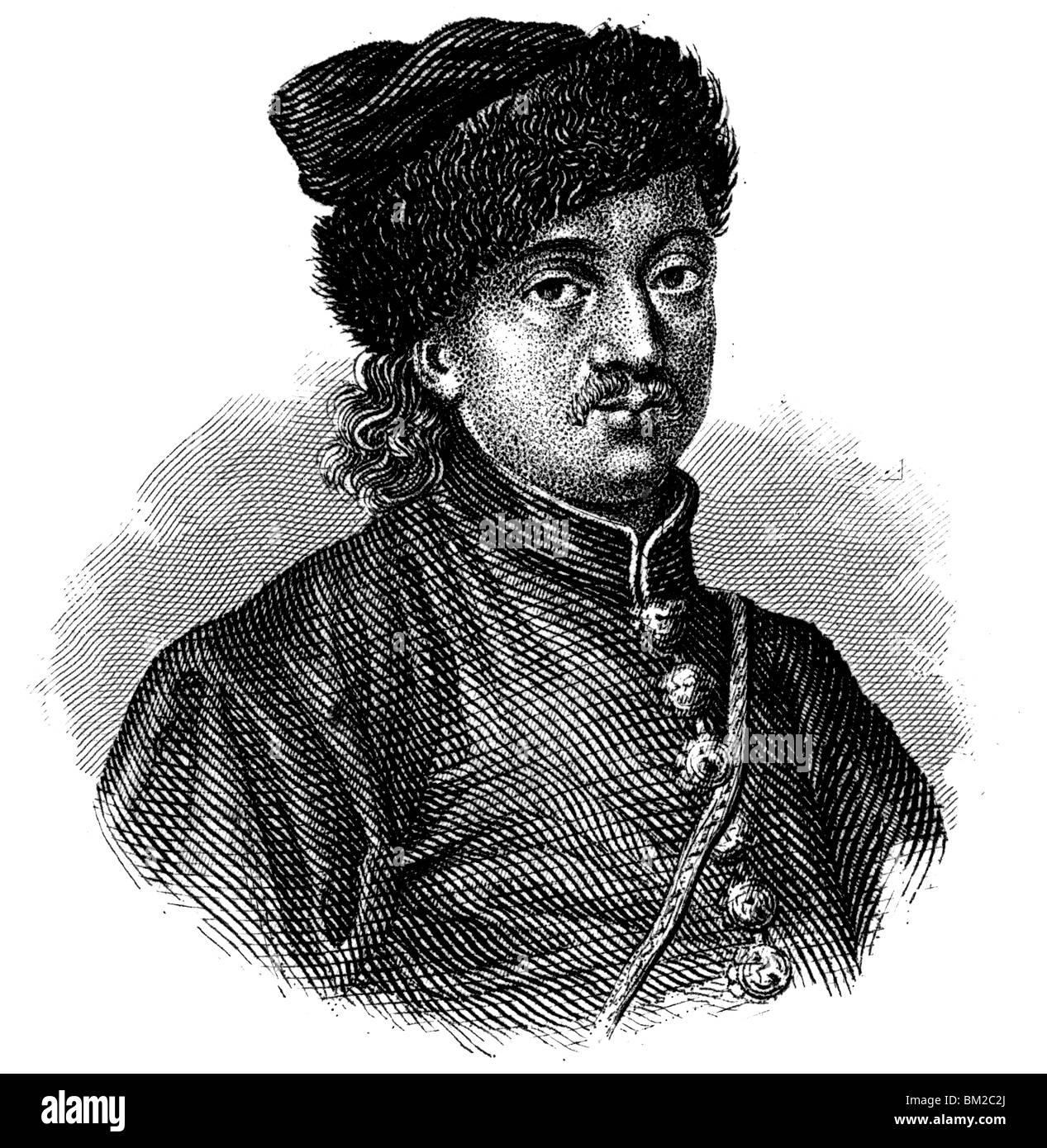 Miklós Zrínyi Stock Photo