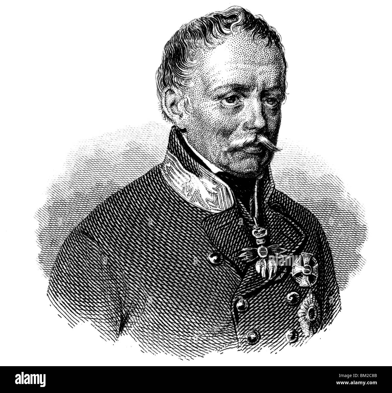 Joseph Radetzky von Radetz - Stock Image