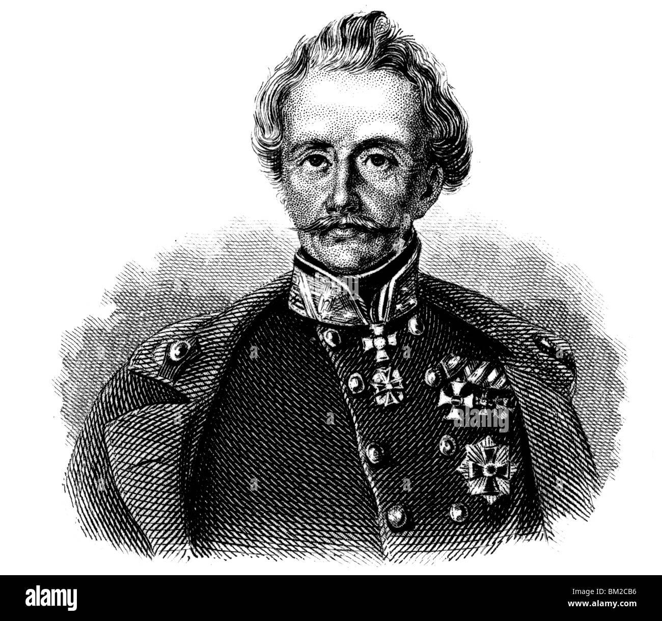 Heinrich von Heß - Stock Image