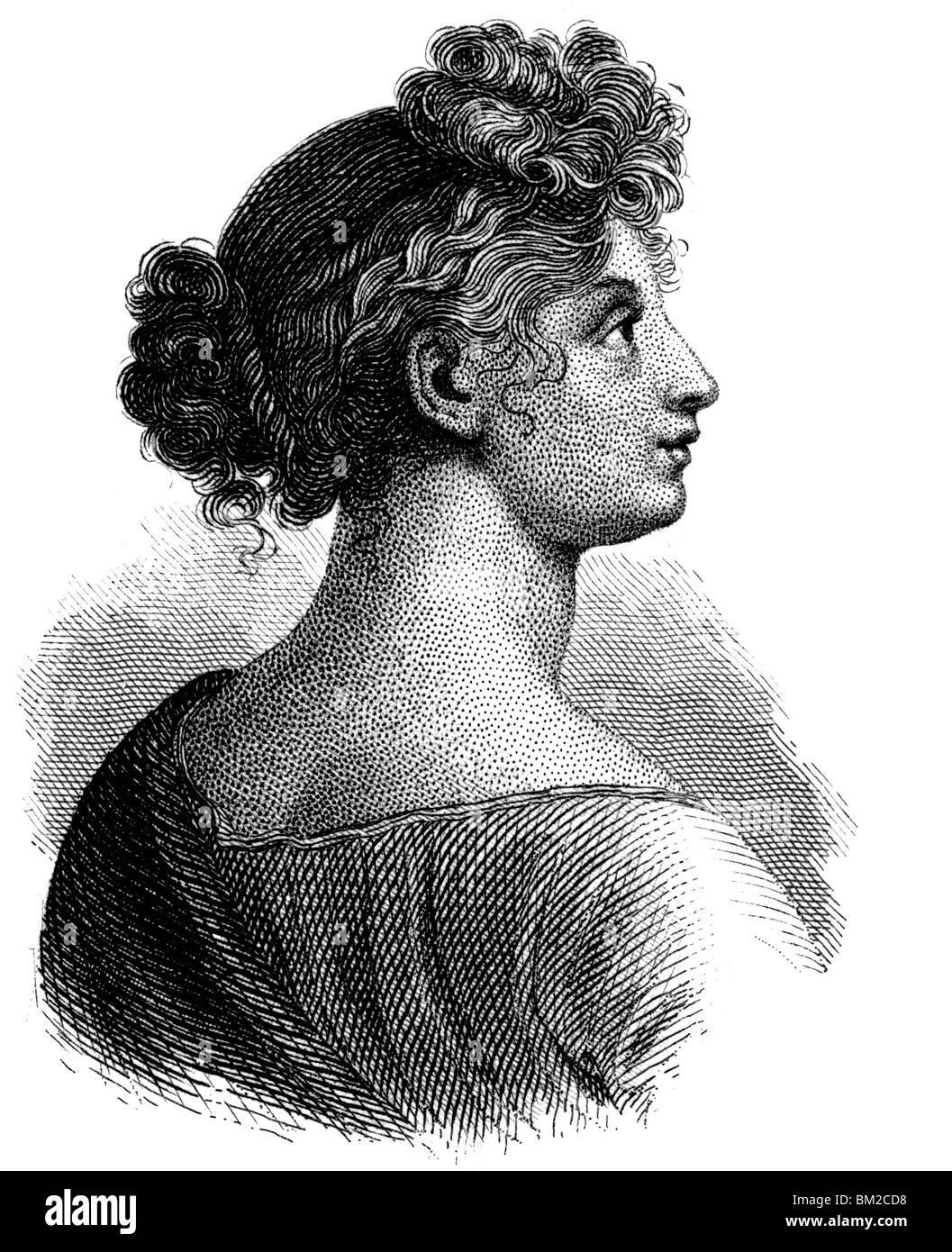 Luise von Mecklenburg Strelitz queen Stock Photo
