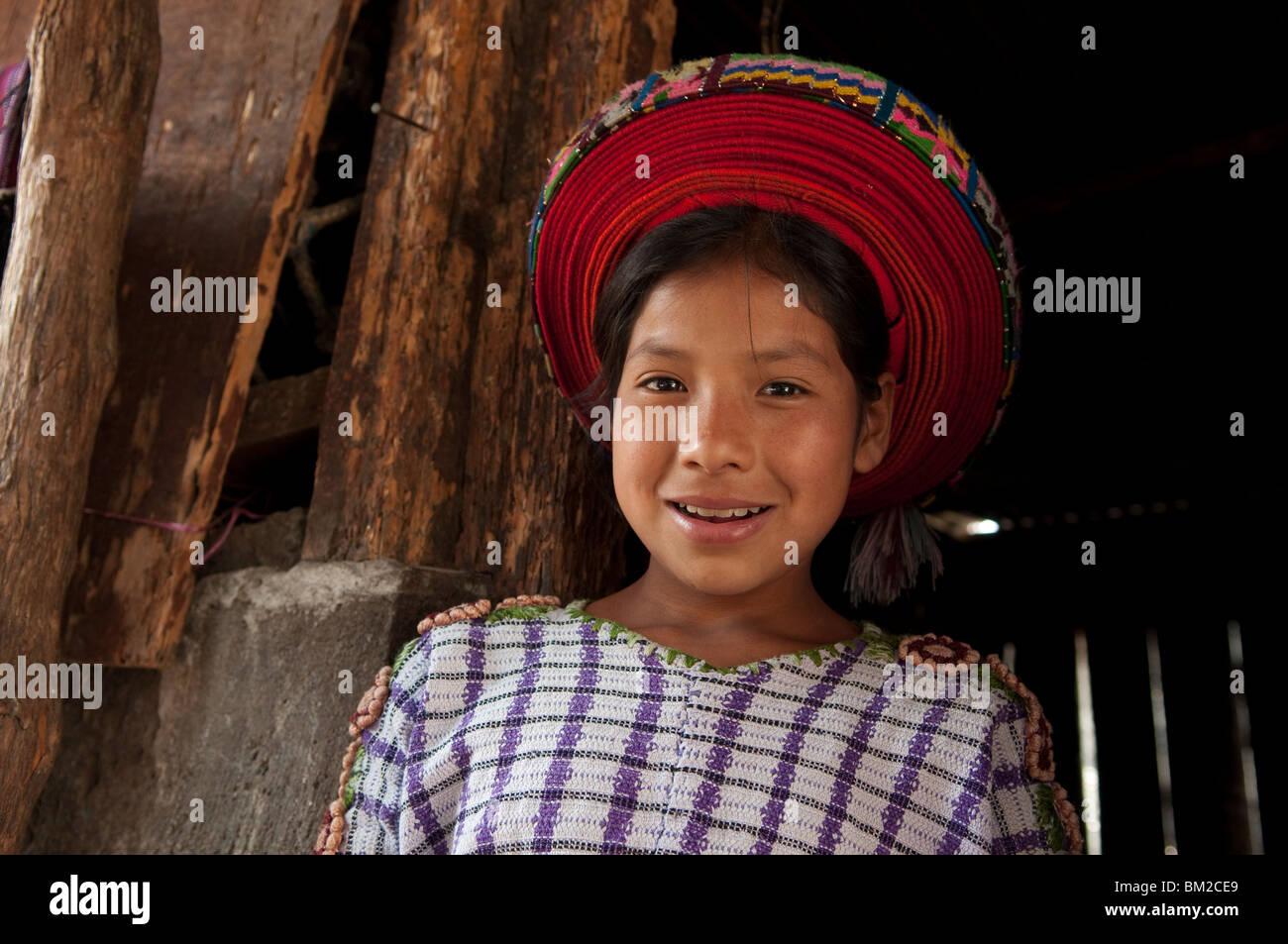 Santiago Atitlan, Lake Atitlan, Guatemala Stock Photo