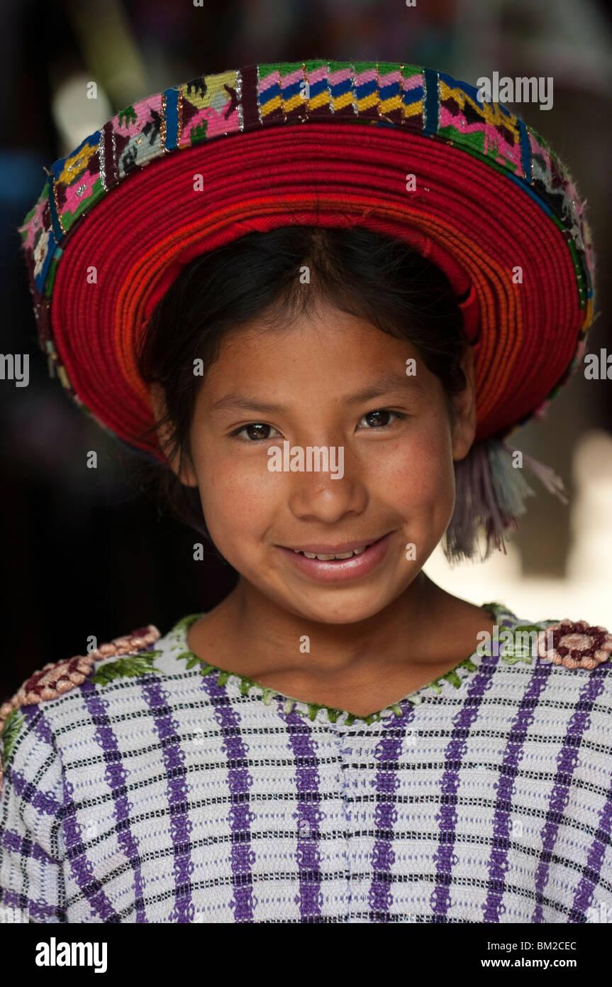 Santiago Atitlan, Lake Atitlan, Guatemala - Stock Image