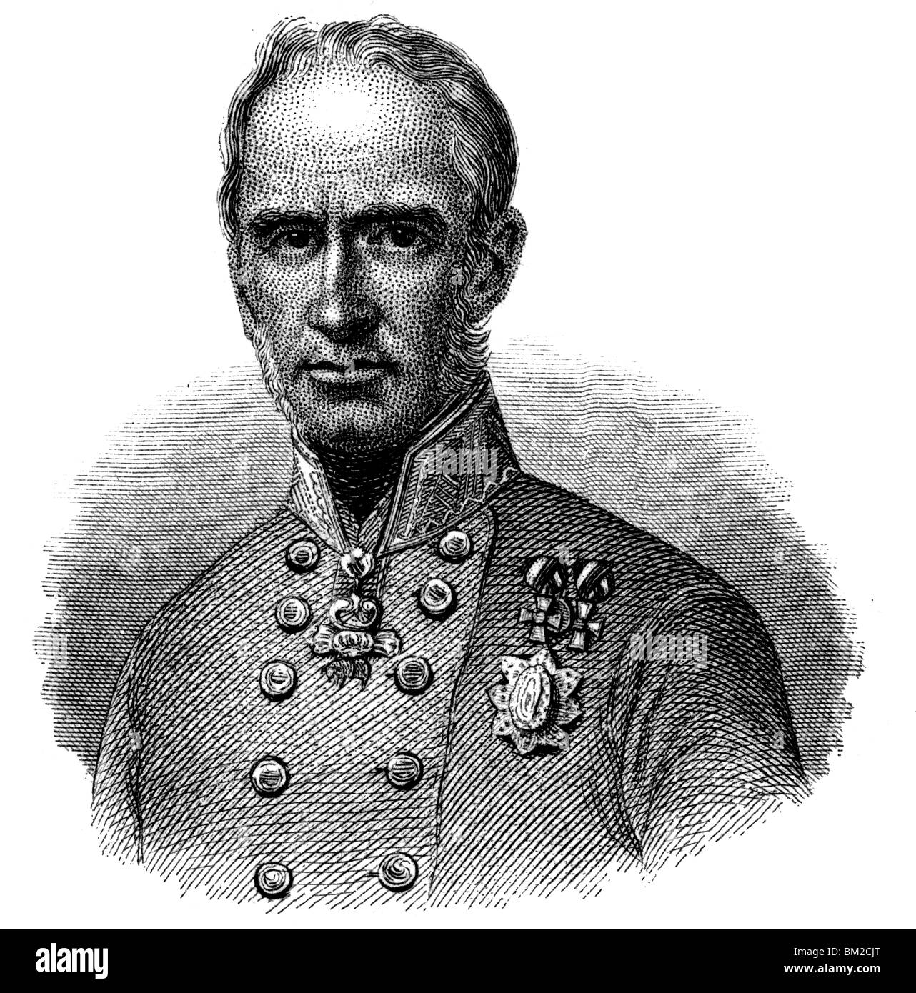 Alfred I, Prince of Windisch-Grätz - Stock Image
