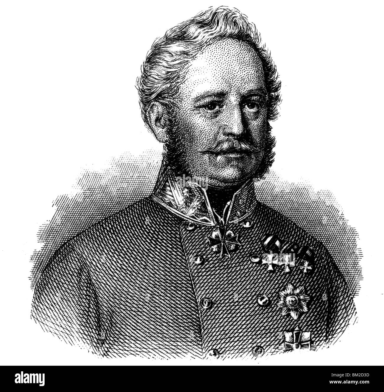 Eugen Wratislaw von Mitrowitz Stock Photo