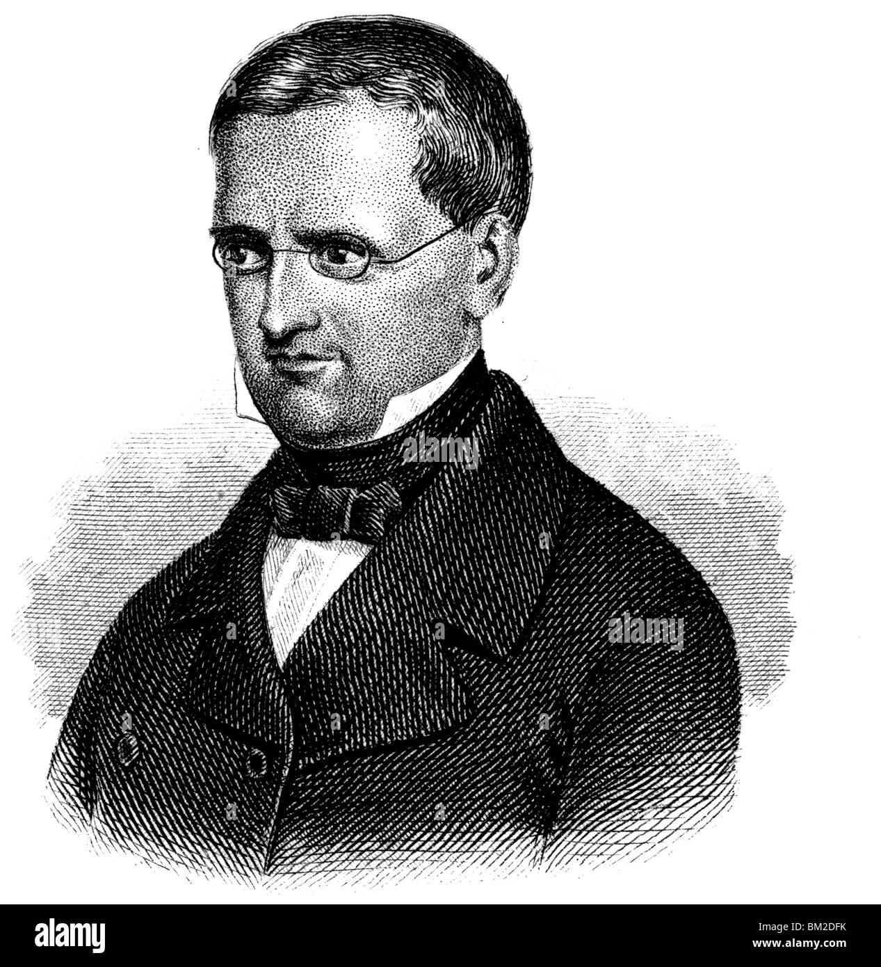 Otto Theodor von Manteuffel - Stock Image