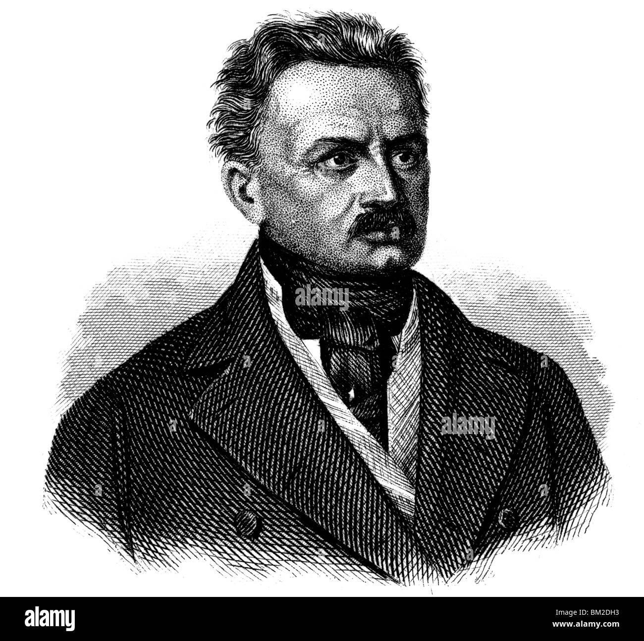 Joseph von Radowitz Stock Photo