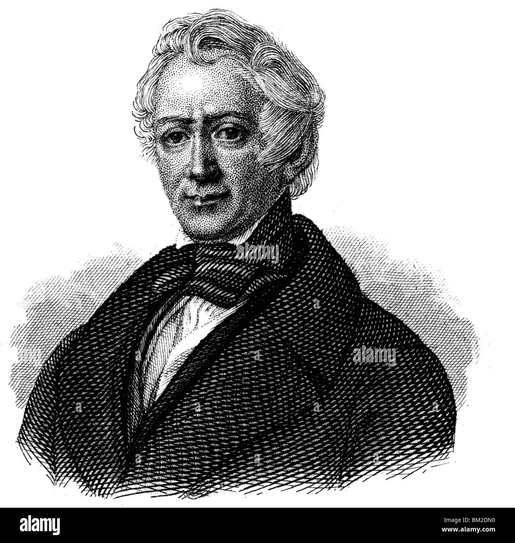 Friedrich Ludwig Georg von Raumer Stock Photo