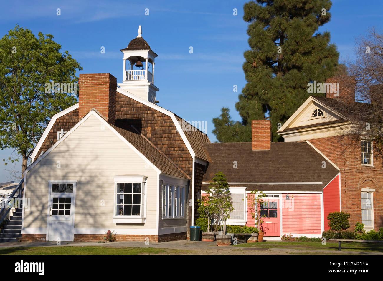 Ports O'Call Fishing Village, San Pedro, Los Angeles, California, USA - Stock Image