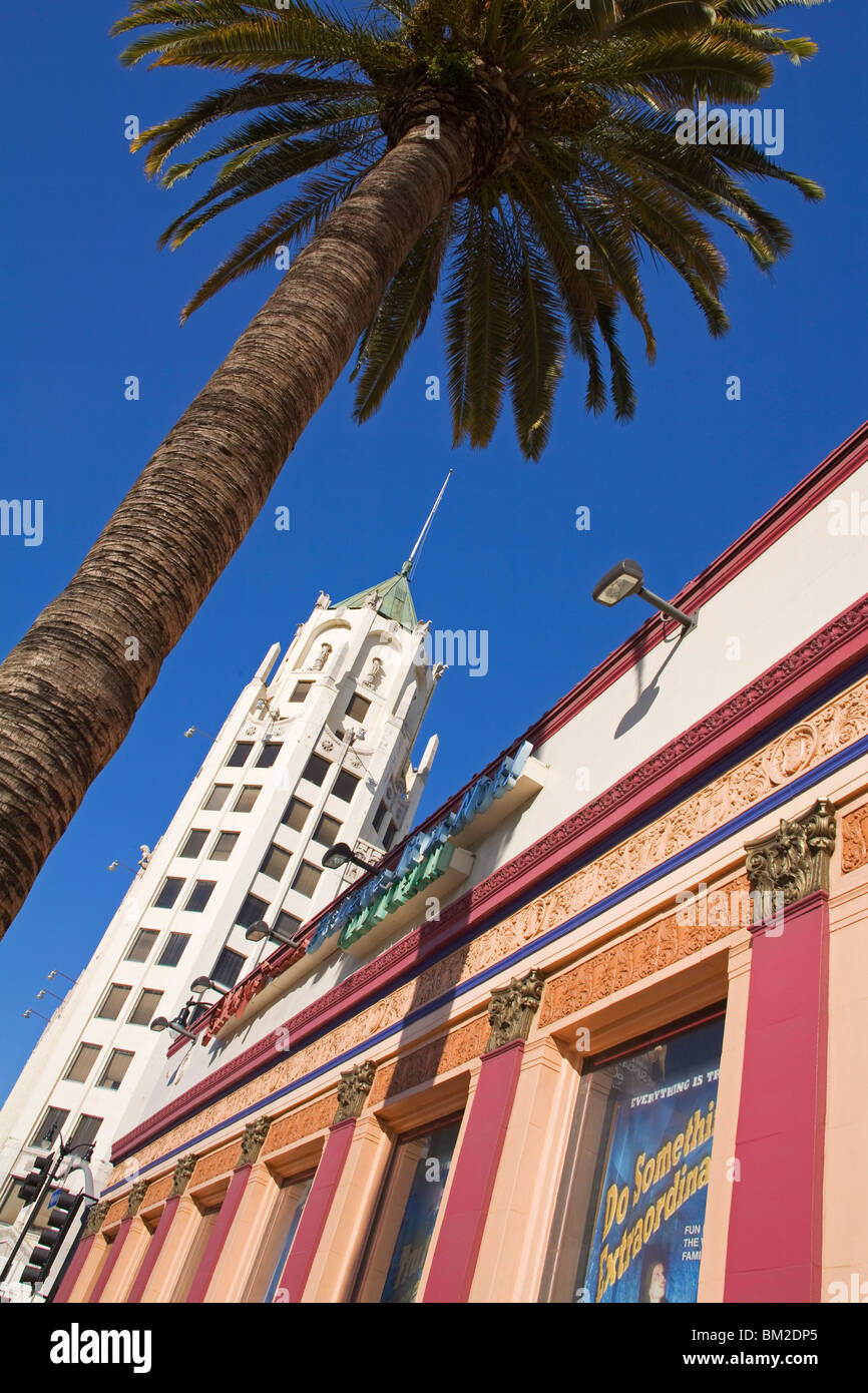 Hollywood First National Building, Hollywood Boulevard, Hollywood, California, USA - Stock Image