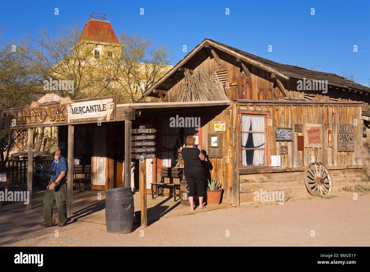 Old Tucson Studios, Tucson, Arizona, USA - Stock Image