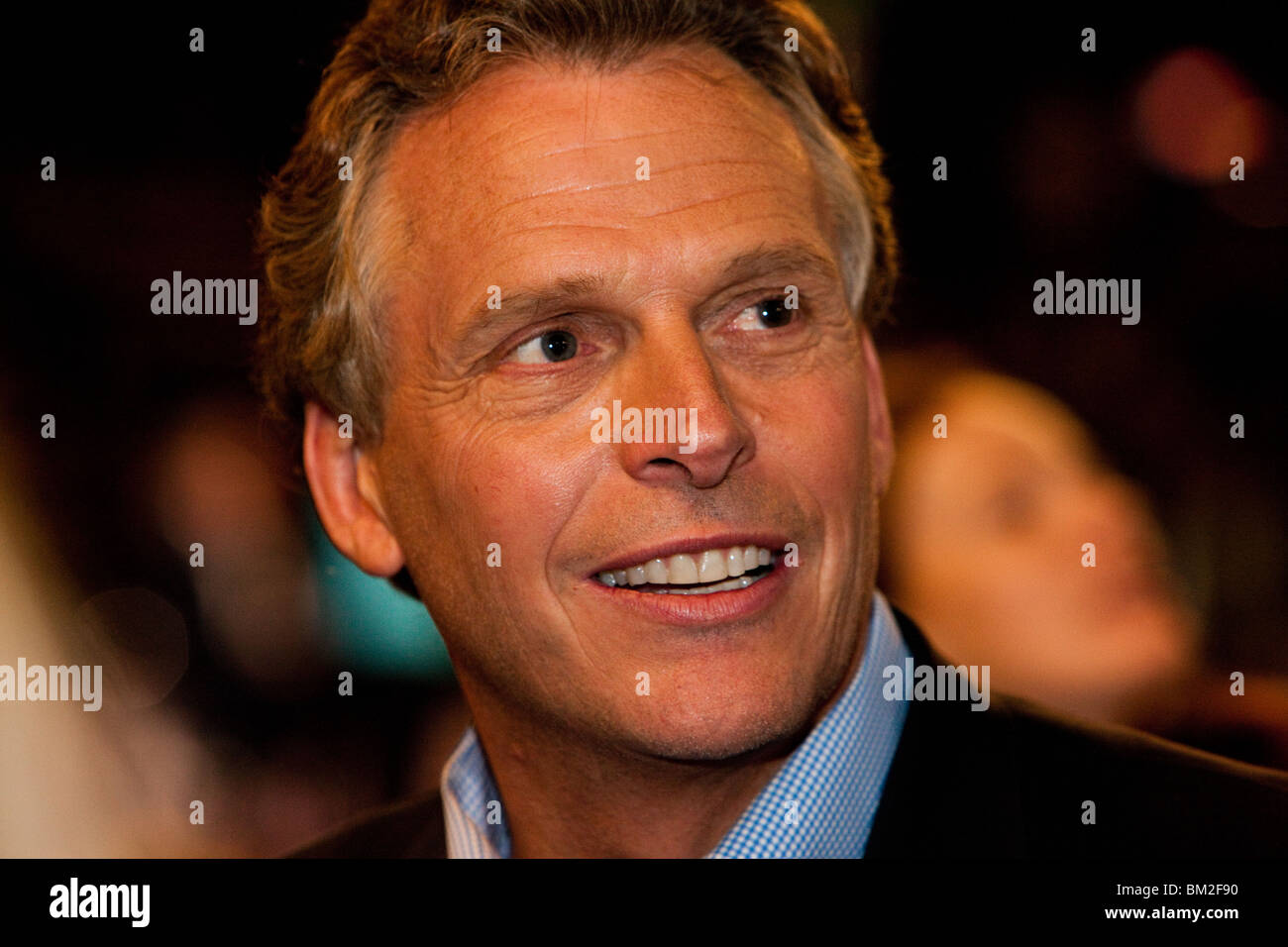 Terry McAuliffe - Stock Image
