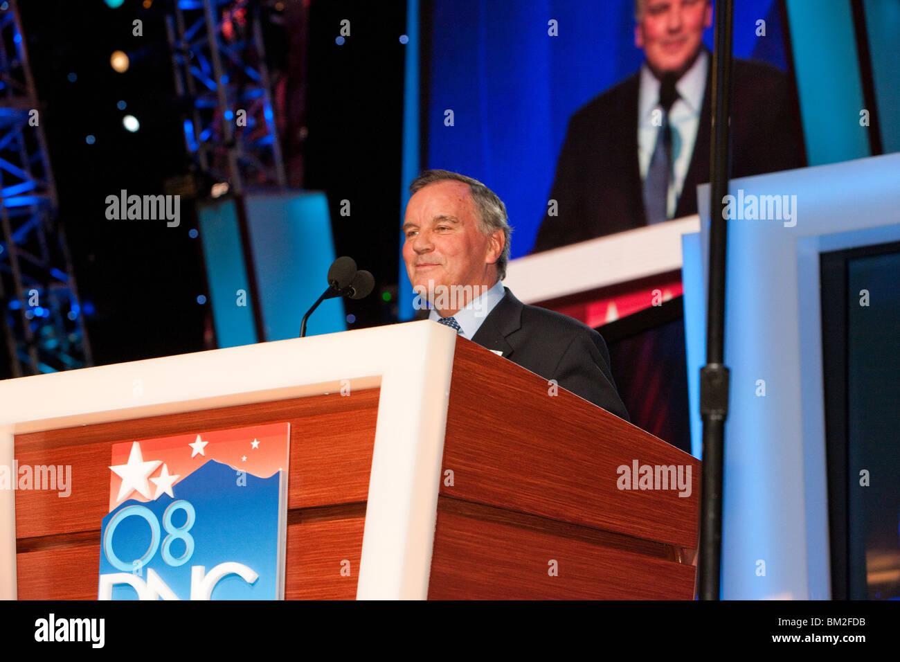 Mayor Richard Daley Keynote - Stock Image