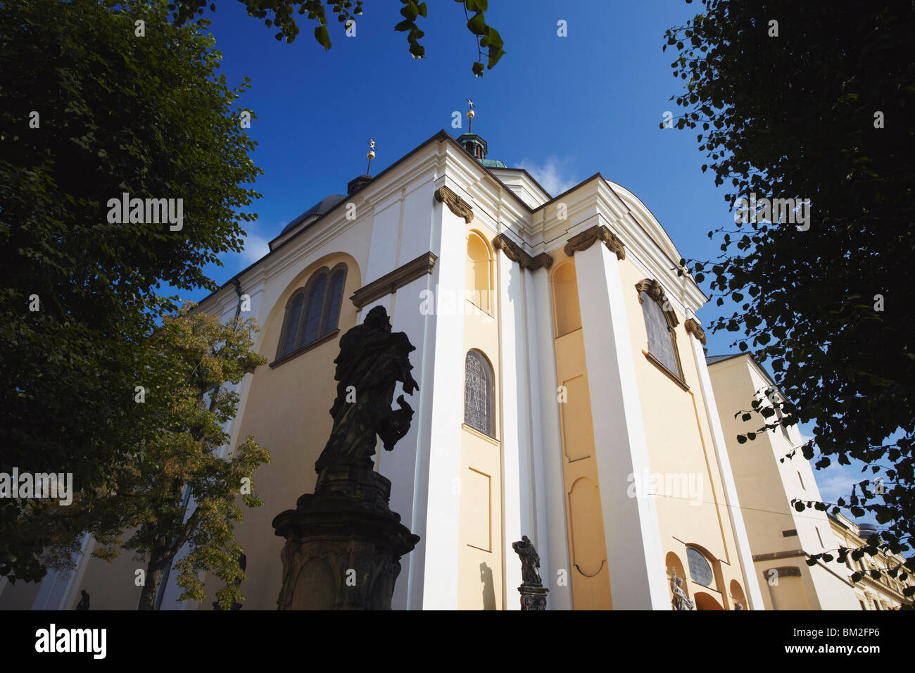 St. Michael's Church, Olomouc, Moravia, Czech Republic - Stock Image